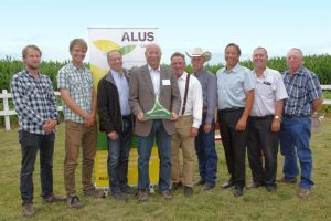 All the speakers at ALUS Canada's Alberta announcement
