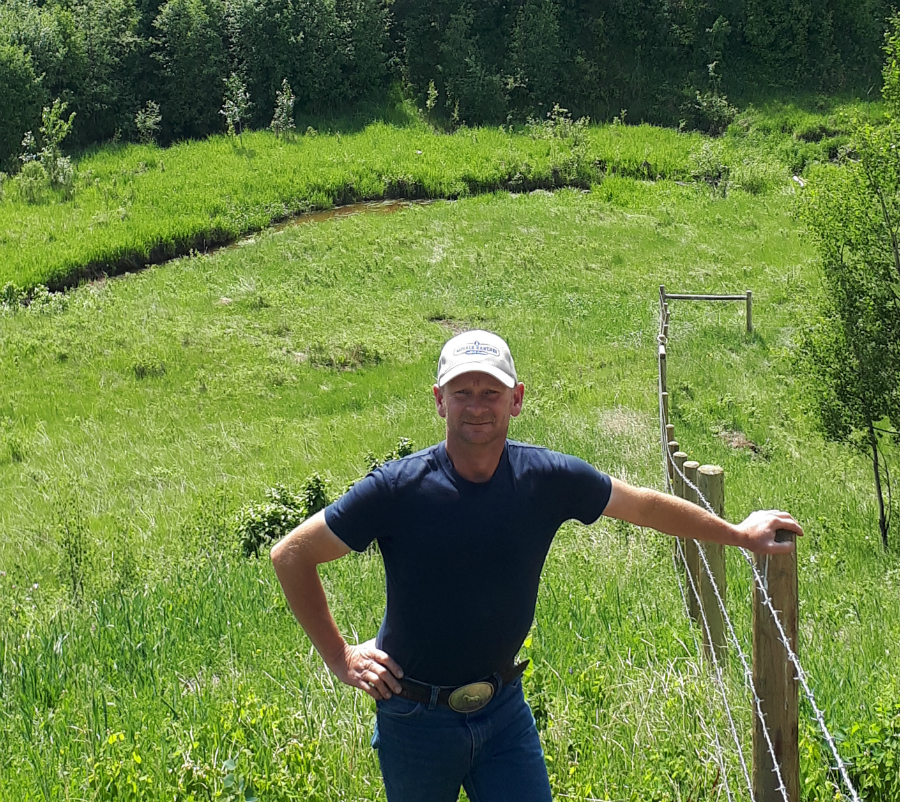 """I am very proud to be part of ALUS. I like that the program calls on those who know the land better than anyone else to work with nature and produce ecosystem services that truly have an impact."" -ALUS Brazeau PAC Chair Duane Movald, who, along with his parents, run a fifth-generation family farm west of Breton, Alberta."